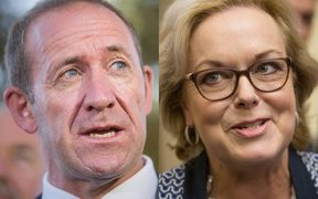 Andrew Little and Judith Collins