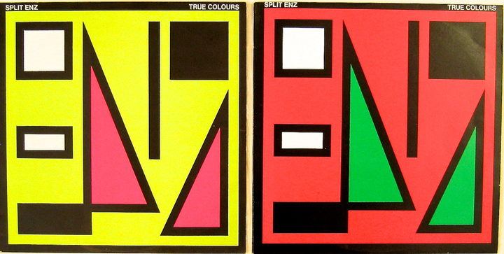 Split Enz - True Colours album artwork