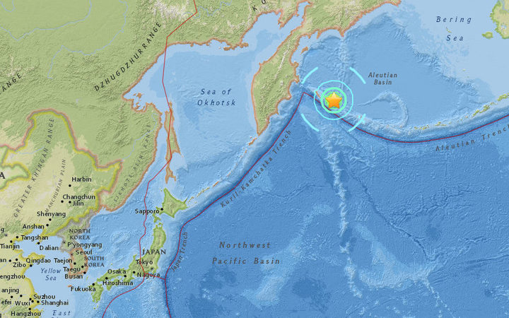 Tsunami possible along Aleutian Islands, Alaska following magnitude 7.7 earthquake — Breaking