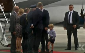 Prince William and family tour Poland, Germany