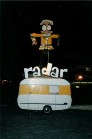 Radar fondly looks back on his show set in a caravan more than two decades ago.
