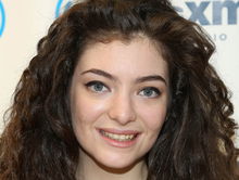 New Zealand singer-songwriter Lorde.