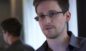 Edward Snowden is a fugitive in Russia.