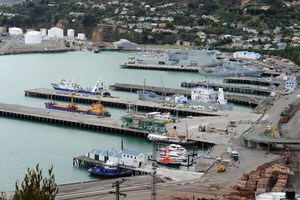 Lyttelton Port was severely damaged by three major earthquakes in 2010 and 2011.