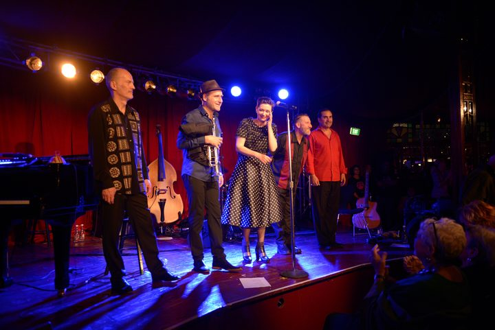 The Paris Combo live at The Spiegeltent