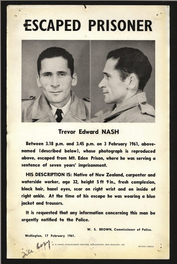 Wanted: Trevor Nash
