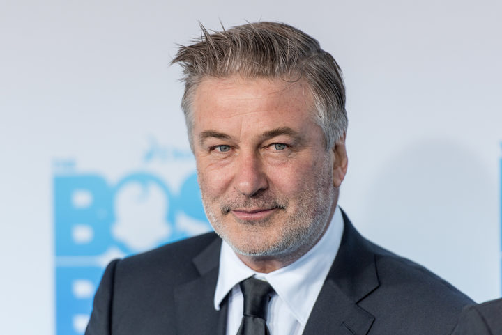 Alec Baldwin at the premiere of Boss Baby in which his voice plays a starring role.