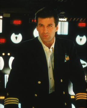 Baldwin as Jack Ryan (just that one time) in The Hunt for Red October (1990).