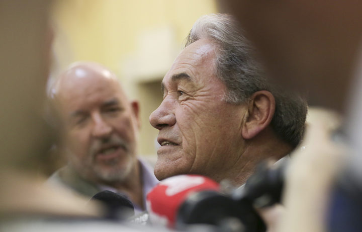 Winston Peters  New Zealand First Leader