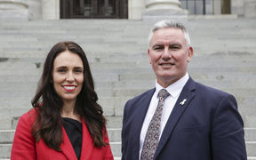 Jacinda Ardern and Kelvin Davis, new Labour Leaders