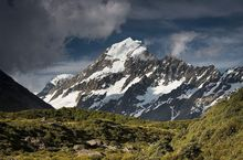 Aoraki/Mt Cook from the Hooker Valley.