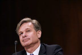 Christopher Wray testifies before the Senate Judiciary Committee on his nomination to be the director of the Federal Bureau of Investigation.