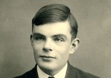 A 16-year-old Alan Turing in a school photo.
