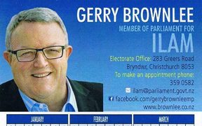 Gerry Brownlee calendar thumb