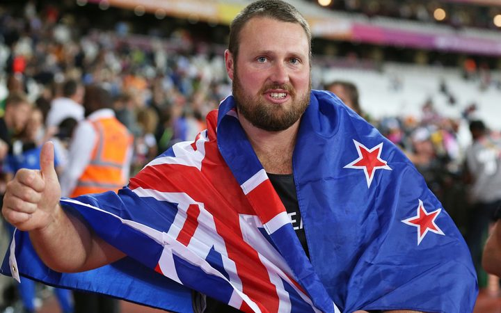 Tom Walsh shot put world champion.