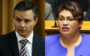 James Shaw and Metiria Turei