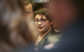 Metiria Turei after Green Party MPs Kennedy Graham and David Clendon withdrew from the party's caucus.