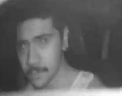 Police say this man removed the camera from the victim's taxi during the incident.