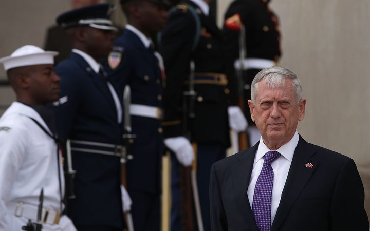 Mattis warns of risk of war if NKorea fires at USA soil