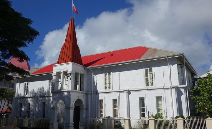 The Prime Minister's Office in Nuku'alofa