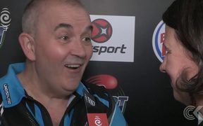 "Local darts champ to take on legendary Phil ""the Power"" Taylor"