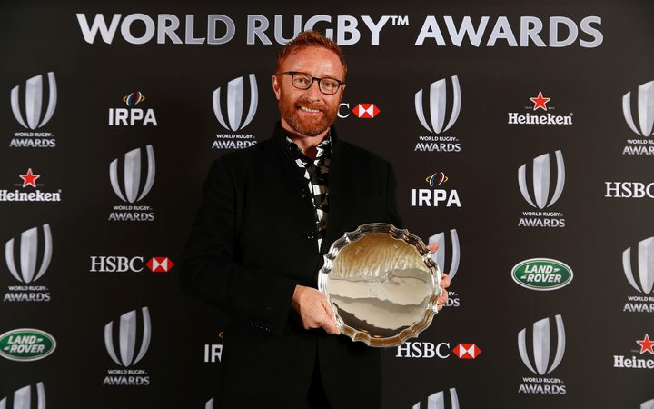 Former Fiji 7s coach Ben Ryan was recognised for his Olympic achivement during the 2016 World Rugby Awards.