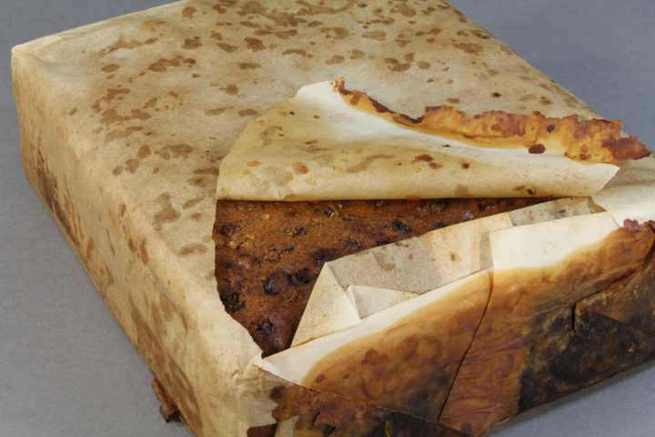 Edible-looking 100-year-old fruitcake recovered in Antarctica