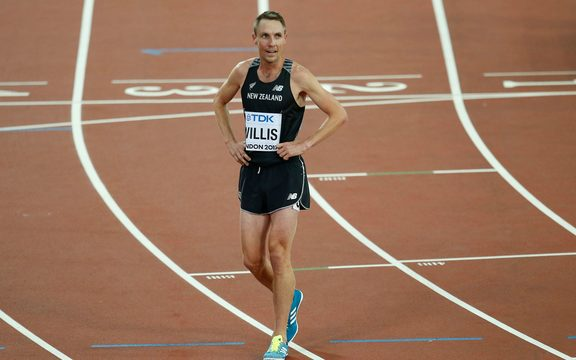 Nick Willis at the 2017 world athletics championships