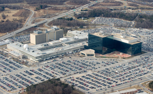 NSA headquarters at Fort Meade, Maryland.