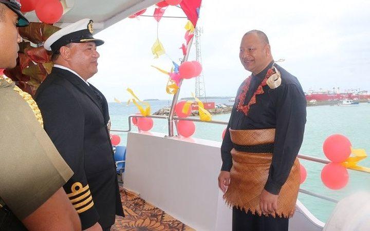 King Tupou VI commissions the MV Maui