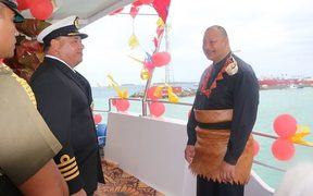King Tupou VI commissions the MV Maui