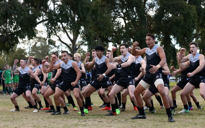 The New Zealand Hawks are bidding for a first AFL International Cup title since 2005.