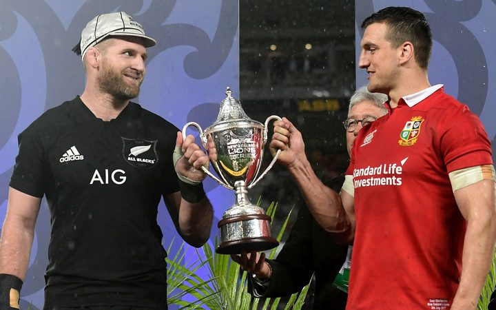 The All Blacks and the Lions shared the spoils.