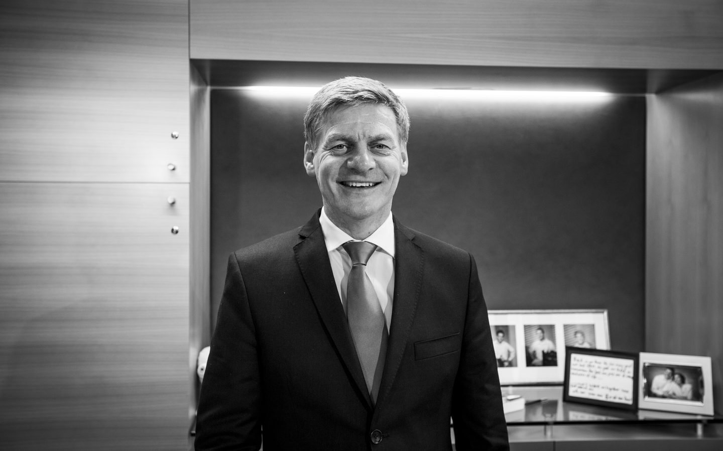 National Party leader Bill English