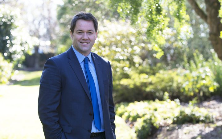 National Party Clutha-Southland candidate Hamish Walker.