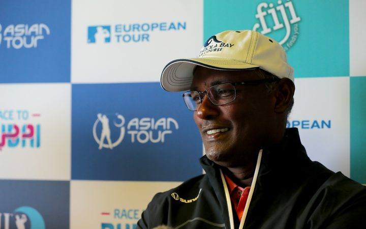 Vijay Singh is hoping it's fourth time lucky at the 2017 Fiji International.