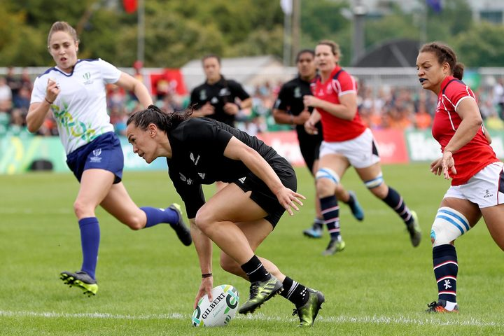 Black Ferns into Rugby World Cup semi-finals