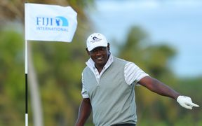 Vijay Singh was the best placed local after the opening round.