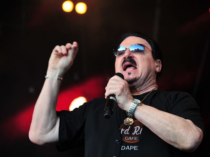 Bobby Kimball of Toto, in concert in Germany August 2017.