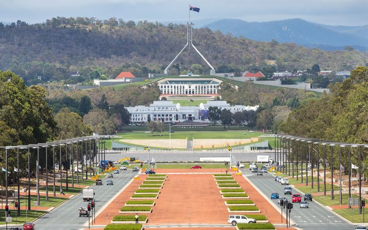 The Australian Capital Territory's parliamentary buildings in Canberra.