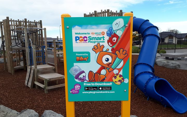 Levi Park, Rolleston has become New Zealand's first Smart Playground