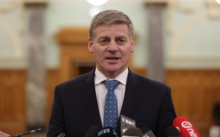 Bill English speaks after hearing Peter Dunne would step down after the election.