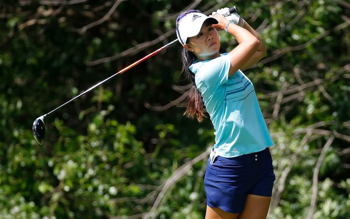 American golfer Danielle Kang