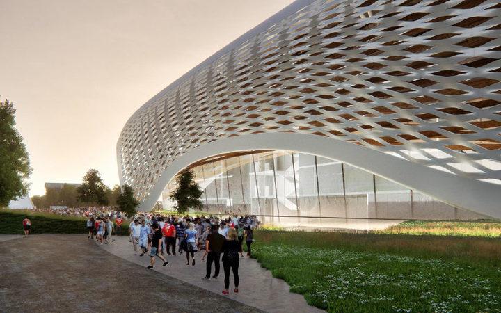 New report favours 496m christchurch stadium radio new zealand news an artists impression of a new christchurch stadium malvernweather Images
