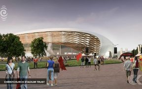 Christchurch stadium options revealed, but nobody wants to pay: RNZ Checkpoint