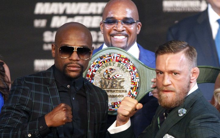 Floyd Mayweather and Connor MacGregor will contest the 'Money Belt'.