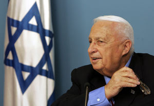 Prime minister Ariel Sharon in 2005.