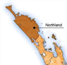 The area  Northland DHB covers.