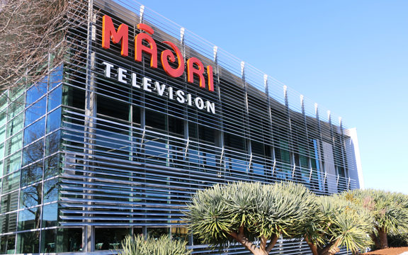 The new Māori Television building.