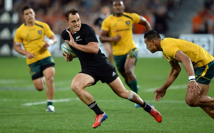 The last time the All Blacks played the Wallabies in Dunedin in 2013, the home team ran away with the game to win 41-33.